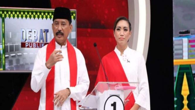 Muhammad-Saraswati, calon wali kota dan wakil wali kota Tangsel nomor urut 01