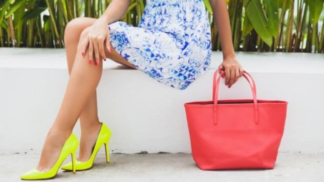 Ilustrasi fashion/tas/sepatu.