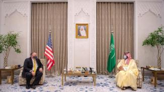 Arab Saudi Bantah Pertemuan Putra Mahkota dengan PM Israel