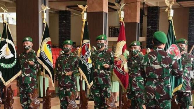 VIVA Militer: Kasad pimpin Sertijab 3 Pangdam sekaligus di Mabesad