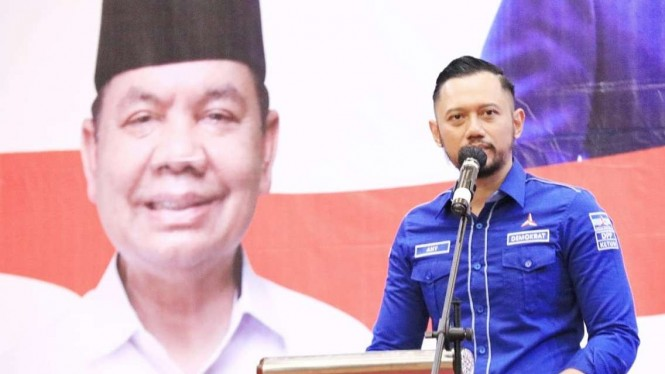 Ketum Partai Demokrat Agus Harimurti Yudhoyono (AHY) di Kalimantan Tengah