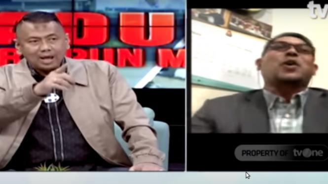 Perdebatan Kapitra Ampera dengan politikus PKS Nasir Jamil