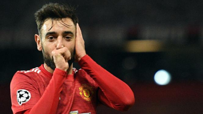 Gelandang Manchester United, Bruno Fernandes