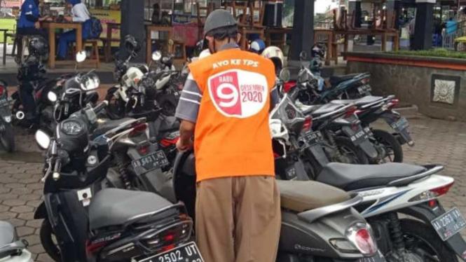 KPU Kota Magelang Gandeng Tukang Parkir Sosialisasikan Pilkada (antara)
