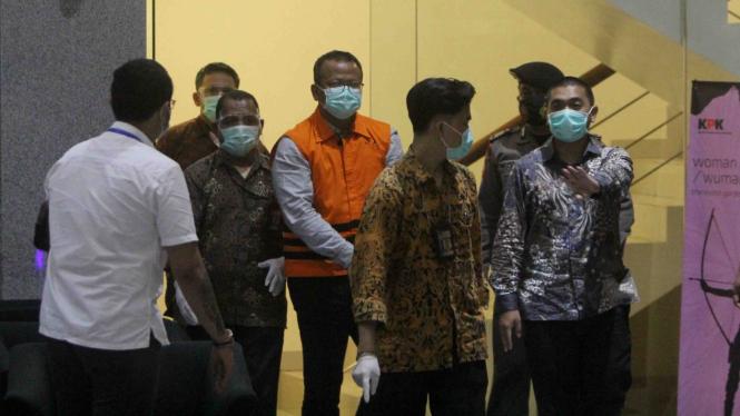 KPK tahan Edhy Prabowo Terkait Korupsi Benih Lobster