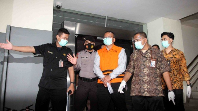 KPK Tahan Menteri KKP Edhy Prabowo Terkait Korupsi Benih Lobster
