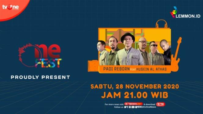 One Fest tvOne, Sabtu (28/11)