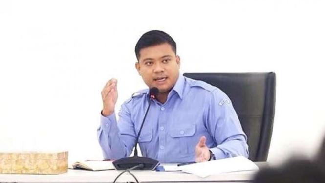 Staf khusus Menteri Kelautan dan Perikanan, yaitu Andreau Misanta Pribadi (AMP).