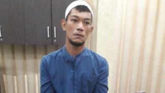 Ketua FPI Kecamatan Galang, Deli Serdang, Sumut, WP, ditangkap polisi.