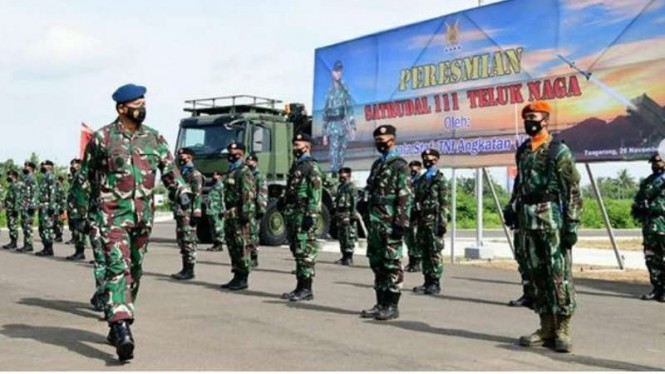 VIVA Militer: Kasau Marsekal TNI Fadjar Prasetyo resmikan Markas Satrudal 111