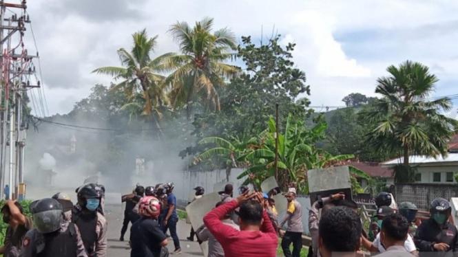 Bentrokan di Sorong, Papua Barat, Jumat 27 November 2020