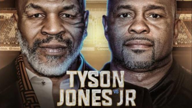 Mike Tyson Vs Roy Jones Jr