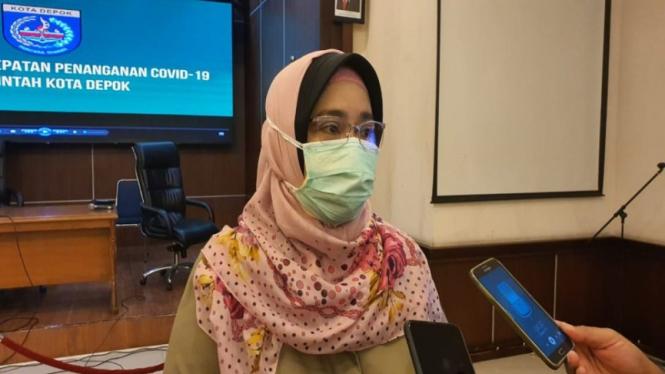 Direktur Rumah Sakit Umum Daerah (RSUD) Kota Depok, Devi Maryori