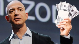 Pendiri Amazon Jeff Bezos.