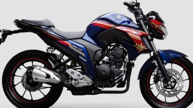 Yamaha FZ 25 Captain Marvel