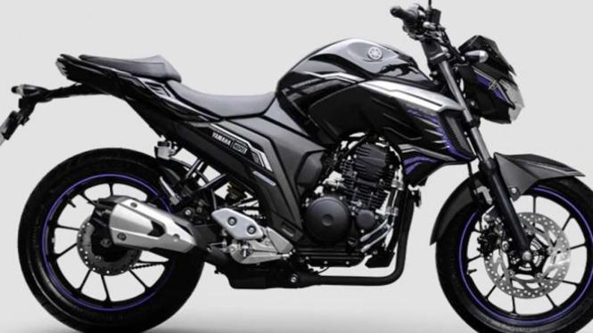 Yamaha FZ 25 Black Panther