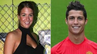 Ronaldo dan mantan kekasihnya, Gemma Atkinson