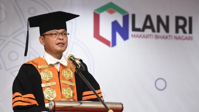 Direktur Politeknik STIA LAN Jakarta, Prof. Dr. Nurliah Nurdin, S.Sos., MA