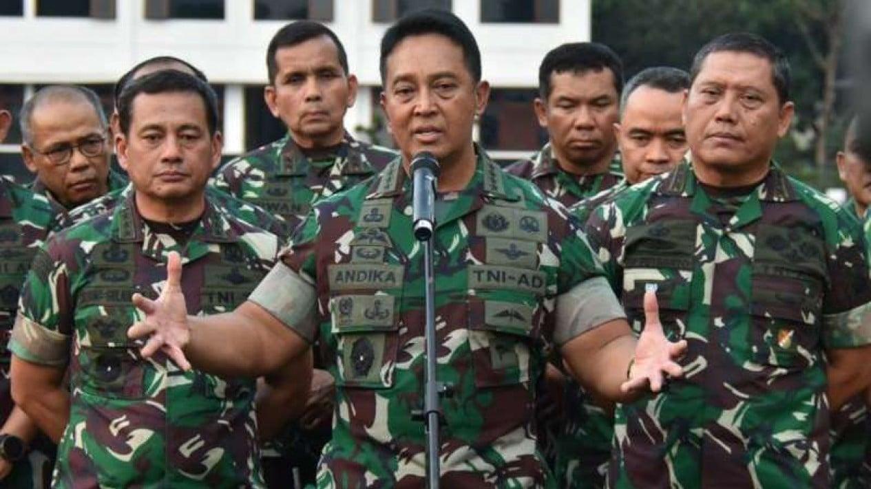 Kepala Staf Angkatan TNI Angkatan Darat, Jenderal TNI Andika Perkasa