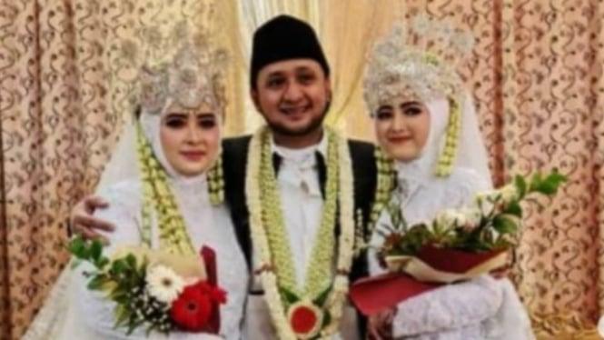 Viral nikahi dua wanita cantik