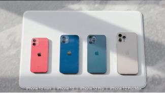 Keluarga iPhone 12.