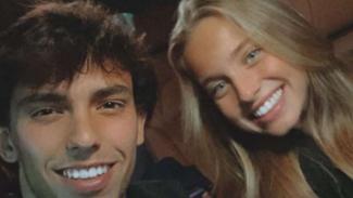 Joao Felix dan kekasihnya, Margarida Corceiro.