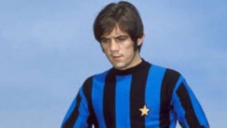 Striker legendaris Inter Milan, Roberto Boninsegna.