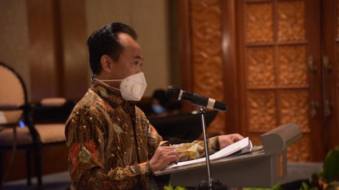 Sekretaris Kementerian Koordinator Bidang Perekonomian, Susiwijono Moegiarso.