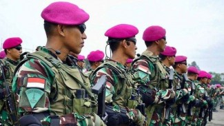 VIVA Militer: Pasukan Korps Marinir TNI Angkatan Laut
