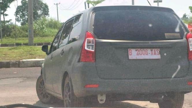 Mobil yang disebut-sebut warganet sebagai Toyota Avanza baru