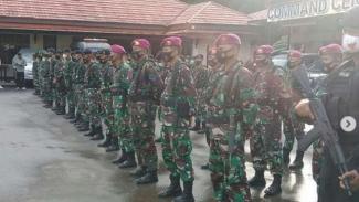 VIVA Militer: Prajurit Marinir TNI AL dari Yonmarhanlan XIV Sorong, Papua