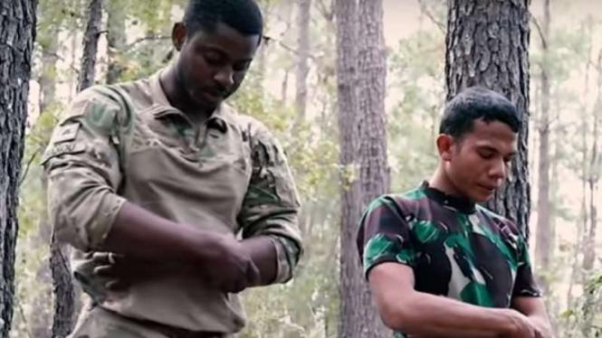 VIVA Militer: Prajurit TNI menjadi imam salat tentara Amerika Serikat