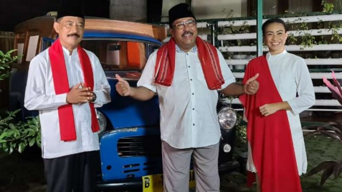 Rano Karno ajak warga Tangsel dukung Muhamad-Saras