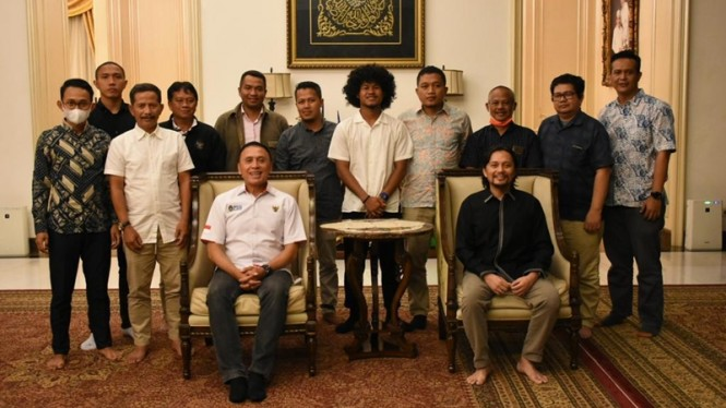 Pertemuan PSSI, Barito Putera, dan Bagus Kahfi
