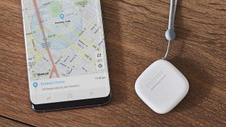Alat pelacak objek pintar milik Samsung.