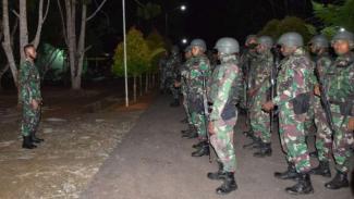 VIVA Militer: Prajurit TNI AD dari Korem 174 Merauke dikerahkan ke Boven Digoel