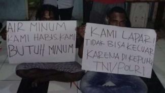 VIVA Militer: Mahasiswa yang mengaku dikepung TNI Polri.