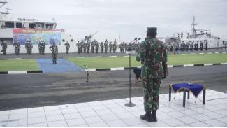 VIVA Militer: TNI AL resmikan Satlinlamil 3 di Makassar
