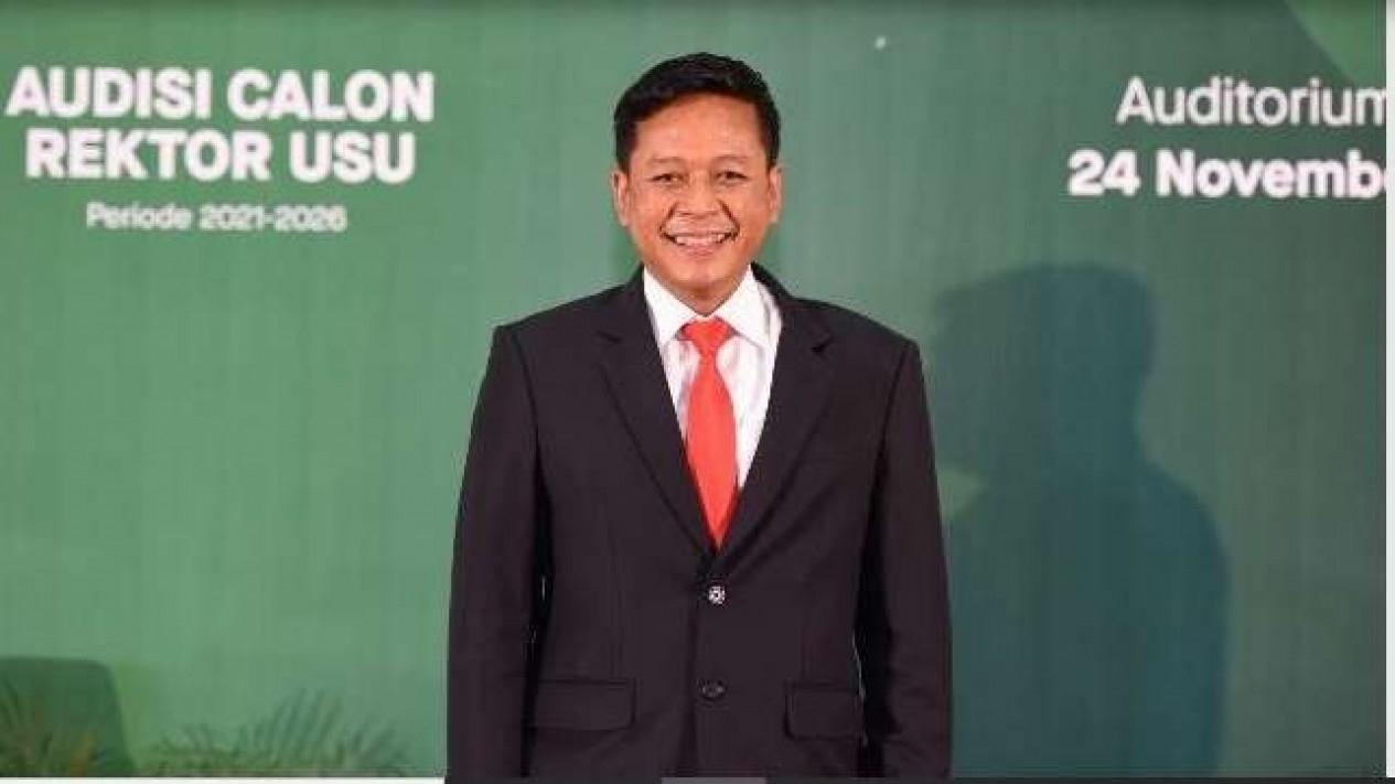 Dr. Muryanto Amin terpilih jadi Rektor USU 2021-2026