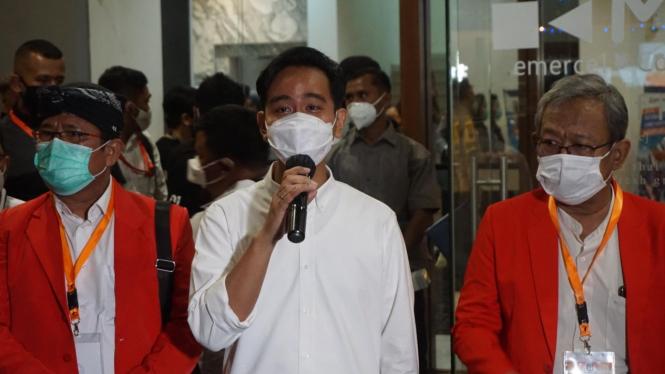 Calon Wali Kota Solo, Gibran Rakabuming Raka.