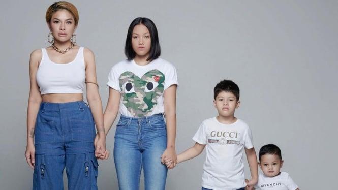 Nikita Mirzani dan anak-annaknya