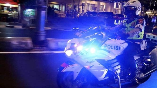 kawasaki Ninja ZX-14R jadi motor patroli polisi