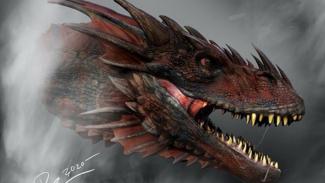 Naga di serial House of the Dragon.