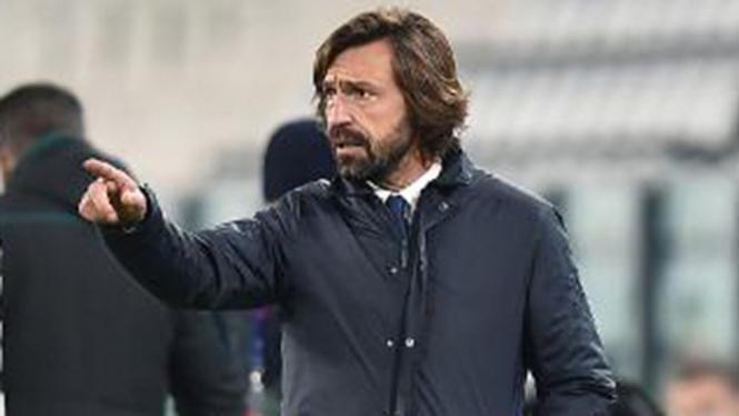 Pelatih Juventus, Andrea Pirlo.