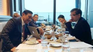 Menko Luhut Ajak Universitas Tokyo Mitra Pengembangan Pulau Kura-kura