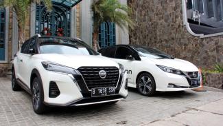 Nissan Kicks dan Nissan Leaf e-Power