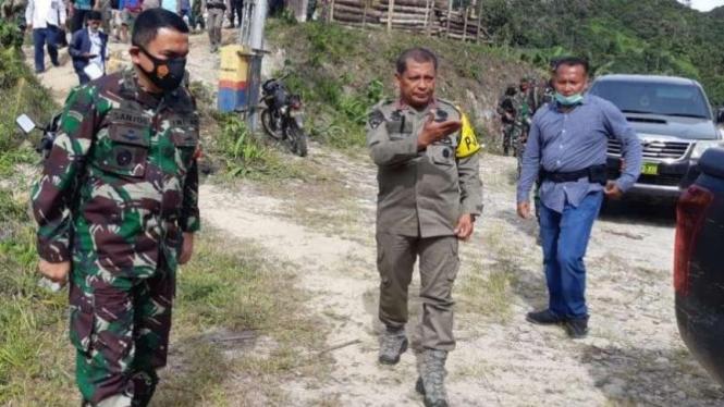 VIVA Militer: Mayjen TNI Santos Gunawan Matondang datangi Kabupaten Sigi