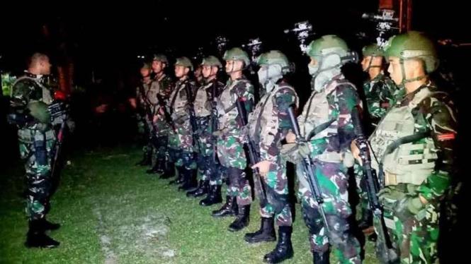 VIVA Militer: Pasukan Batalyon Komando (Yonko) 463/Paskhas