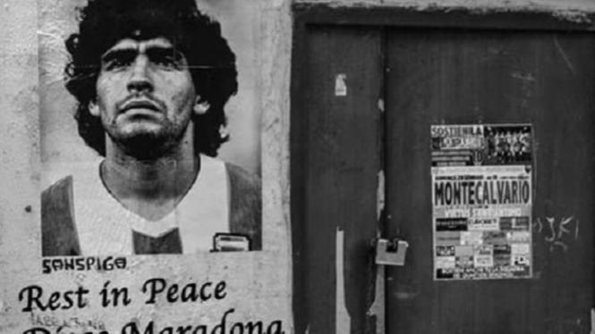 Potret Rumah Mendiang Diego Maradona