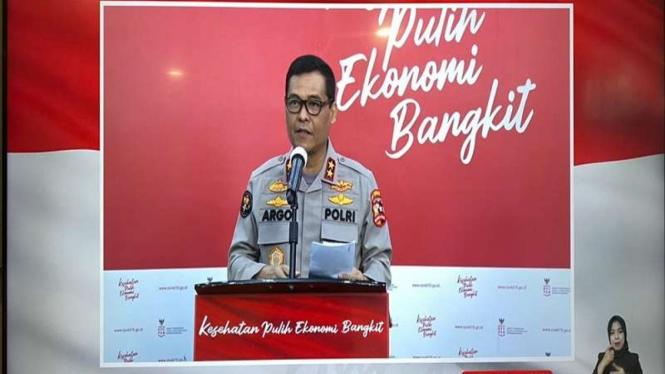 Kadiv Humas Polri Irjen Raden Prabowo Argo Yuwono